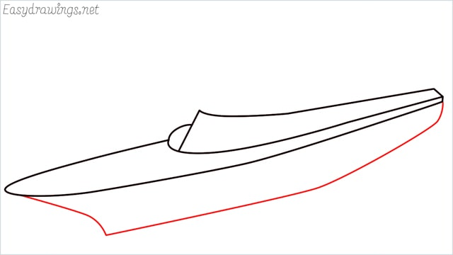 How to draw a ship step (4)