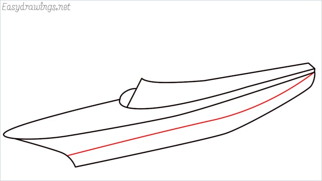 How to draw a ship step (5)