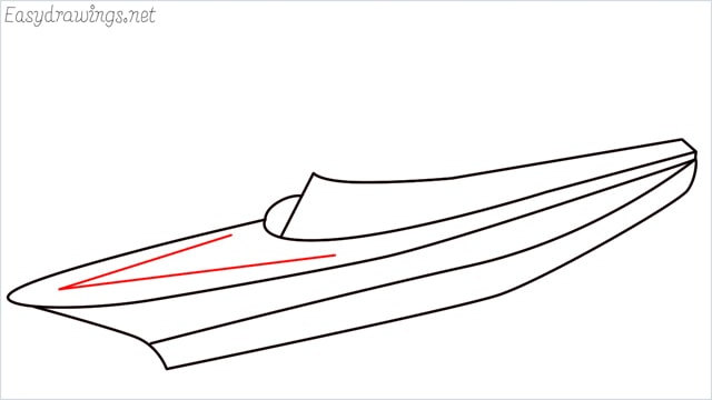How to draw a ship step (6)
