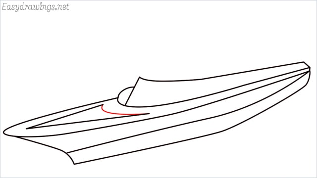 How to draw a ship step (7)