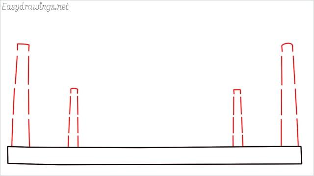 How to draw a taj mahal step (2)