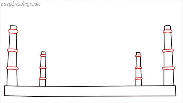 How to draw a taj mahal step (3)