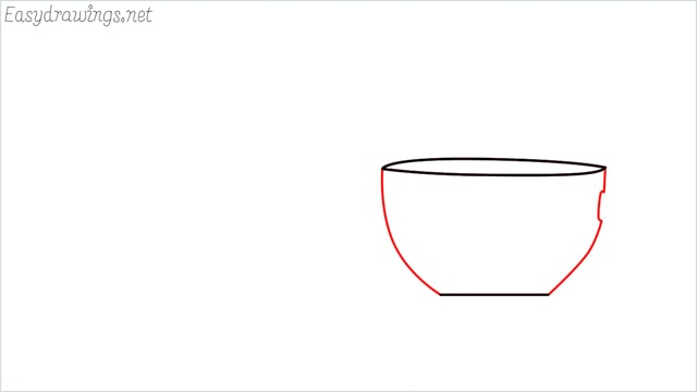 How to draw a teacup step (3)