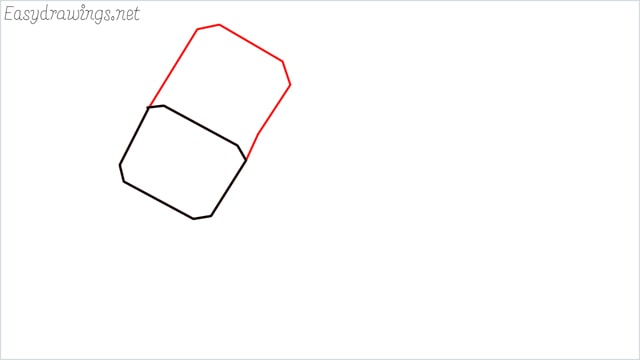 How to draw a thor hammer step (2)