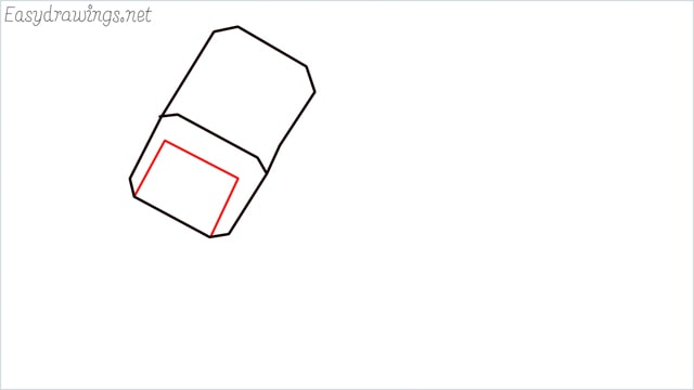 How to draw a thor hammer step (3)
