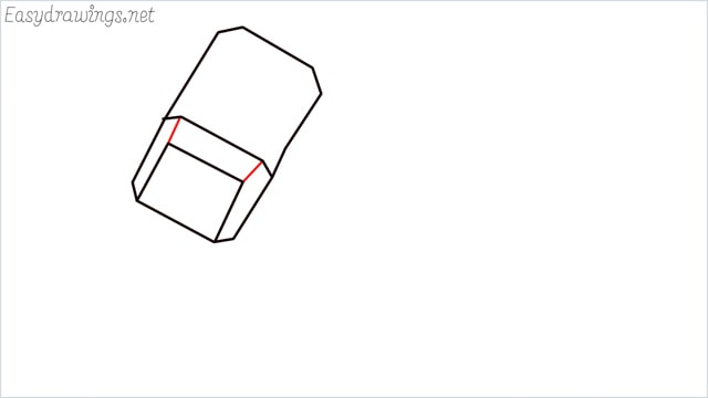 How to draw a thor hammer step (4)