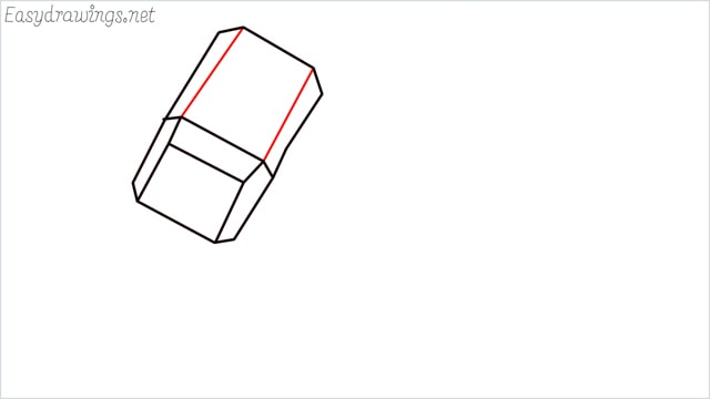 How to draw a thor hammer step (5)