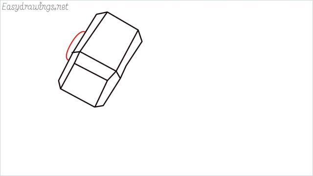 How to draw a thor hammer step (6)