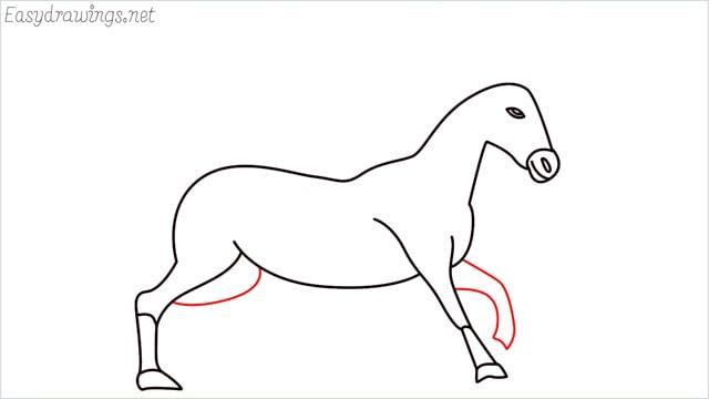 How to draw a unicorn step (12)