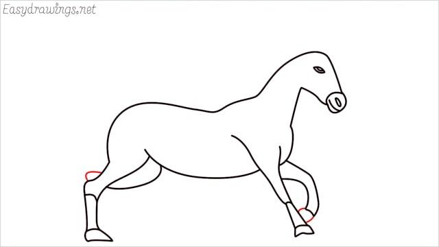 How to draw a unicorn step (13)