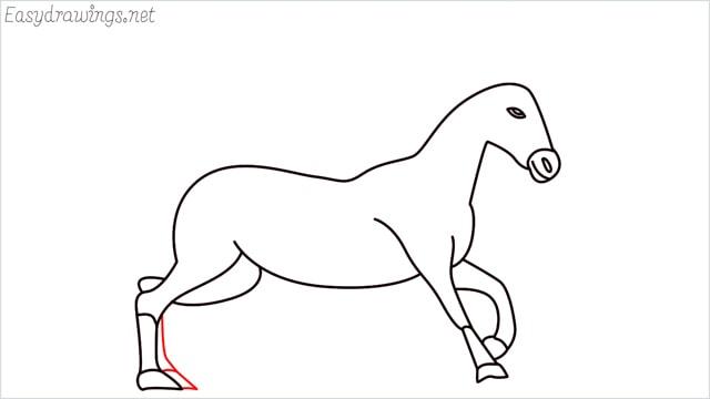 How to draw a unicorn step (14)