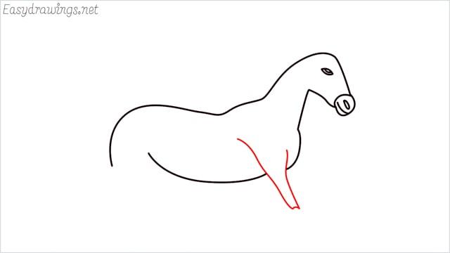 How to draw a unicorn step (8)