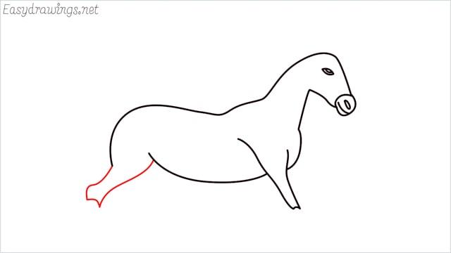 How to draw a unicorn step (9)