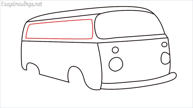 How to draw a van step (11)