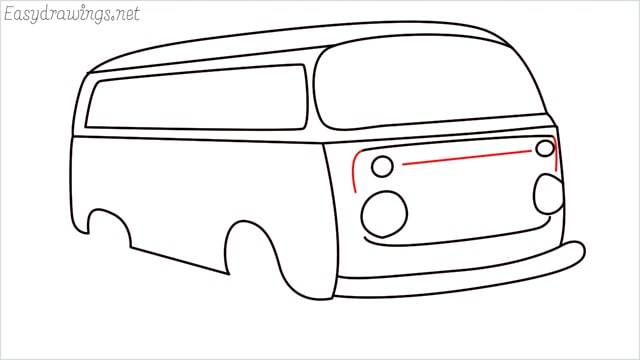 How to draw a van step (13)