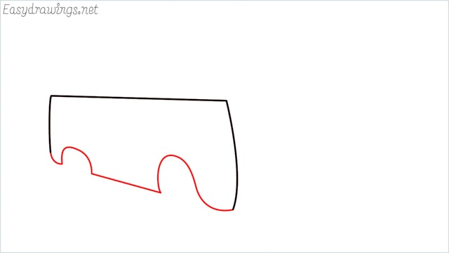 How to draw a van step (3)