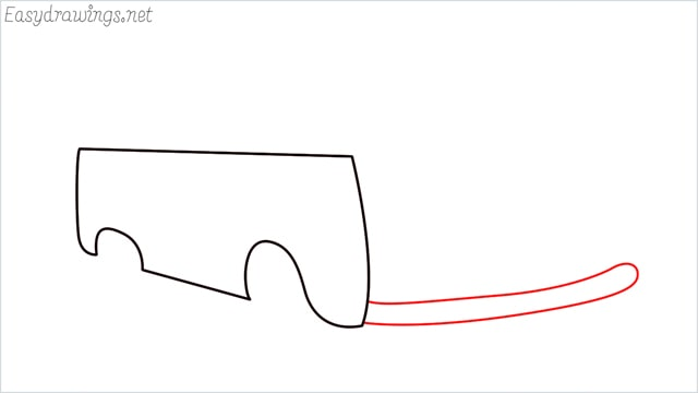 How to draw a van step (4)