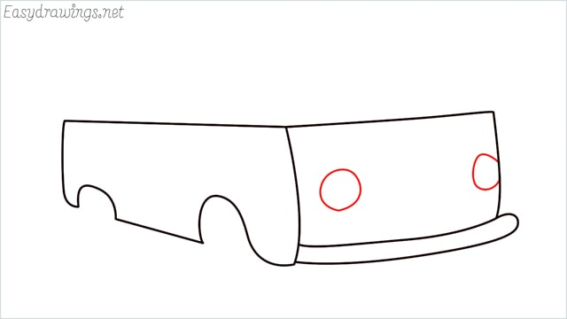 How to draw a van step (6)