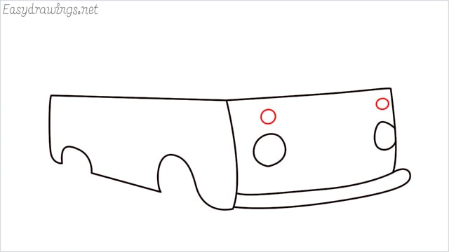 How to draw a van step (7)