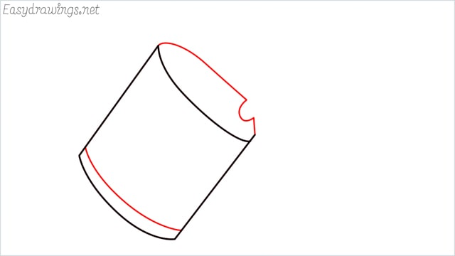 How to draw a watering can step (3)