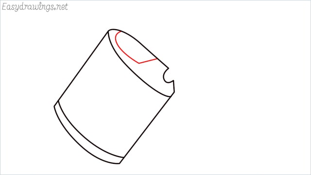 How to draw a watering can step (4)