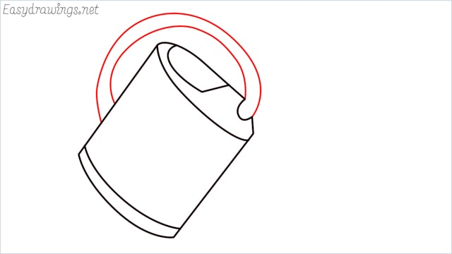 How to draw a watering can step (5)