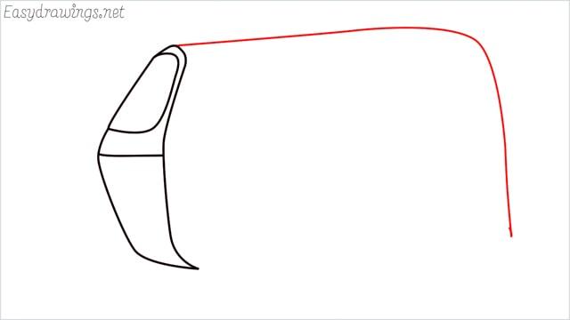How to draw auto rickshaw step (3)