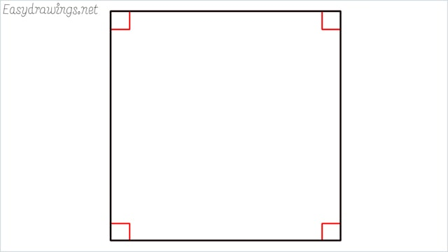 How to draw carrom board step (2)