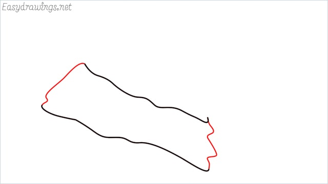 How to draw christmas hat step (3)