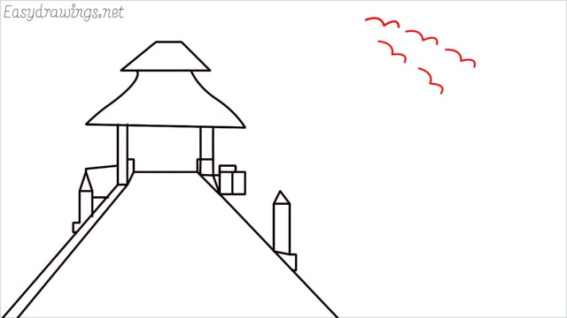 How to draw scenery ONE step (11)