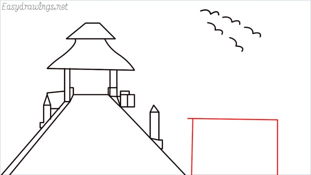 How to draw scenery ONE step (12)