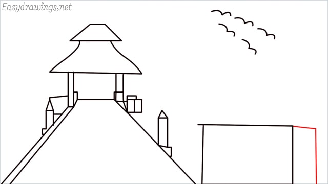 How to draw scenery ONE step (13)