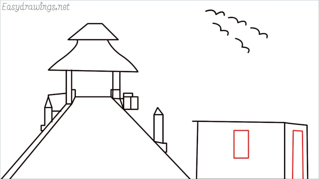 How to draw scenery ONE step (14)