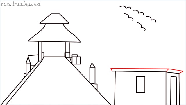 How to draw scenery ONE step (15)