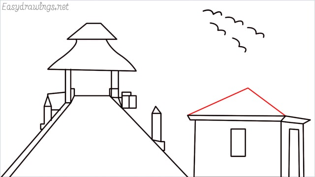 How to draw scenery ONE step (16)