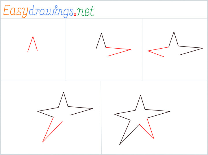 Overview Star Drawing