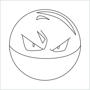 draw Voltorb