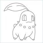 draw a Chikorita