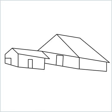 draw a Guest house