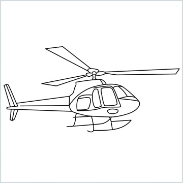 draw a Helicopter