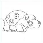 draw a Hippowdon
