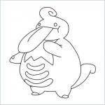 draw a Lickilicky