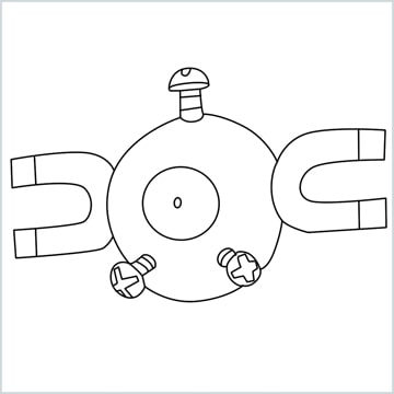 draw a Magnemite