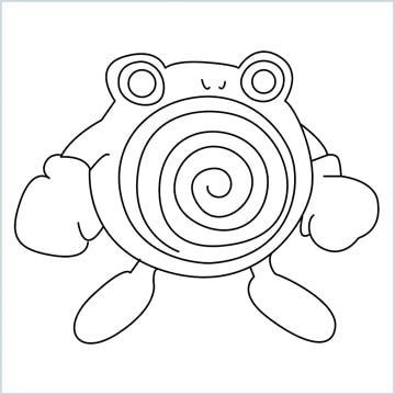 draw a Poliwhirl