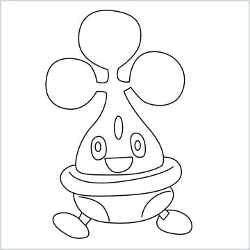 draw a bonsly