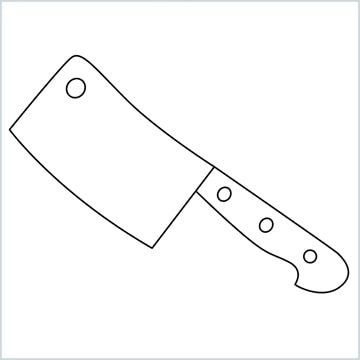 draw a cleaver