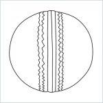 draw a cricket ball