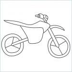 draw a dirt bike