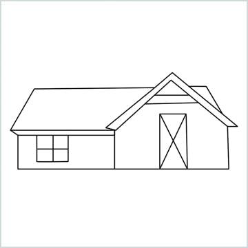 draw a farmhouse