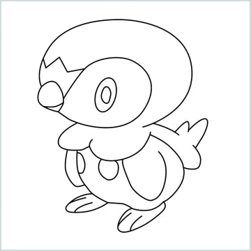 draw a piplup